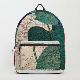 Tropical collage Backpack