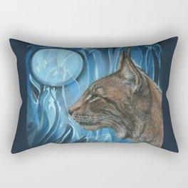 Dreams of a Lynx Rectangular Pillow