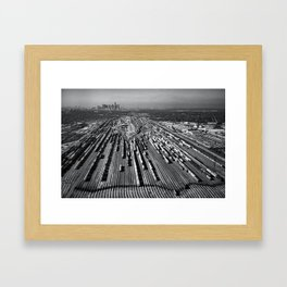 Tower Climber's View Framed Art Print