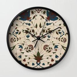 Iznik Tiles Wall Clock