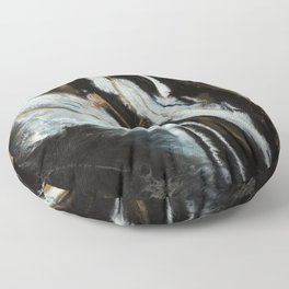 Fine Art Agate Floor Pillow