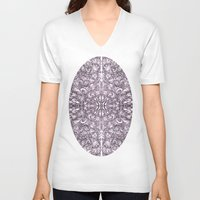 blossom V-neck T-shirts featuring Blossom by András Récze