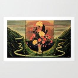 Flower Dream Song    Art Print