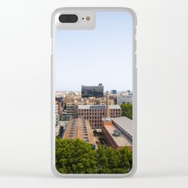 Barcelona Urbanscape Clear iPhone Case