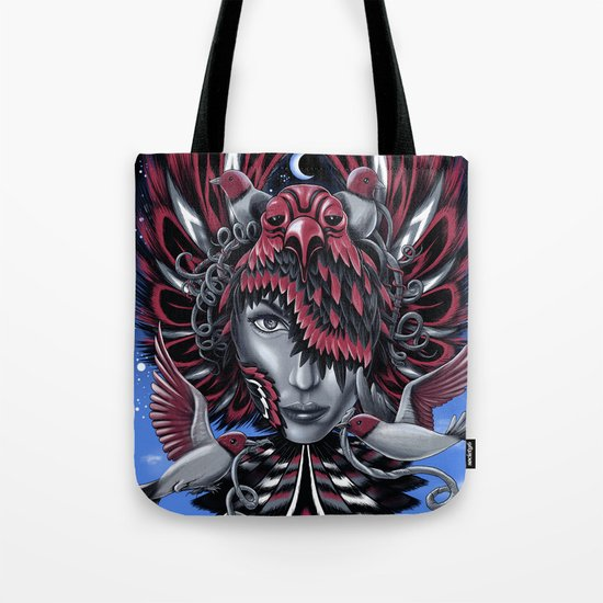 Bird Mask 2 Tote Bag