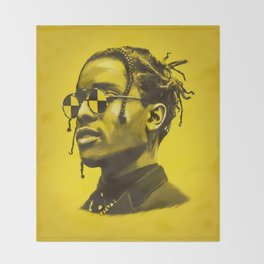 A$AP Rocky Throw Blanket