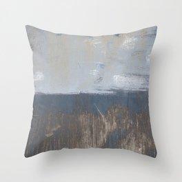 Land, Sea, and Sky Throw Pillow