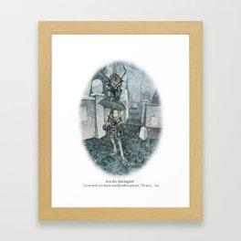 Behind You 28 Framed Art Print