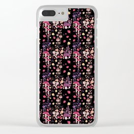Autumn Night Clear iPhone Case