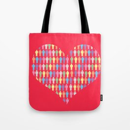 The Heart of the People Tote Bag