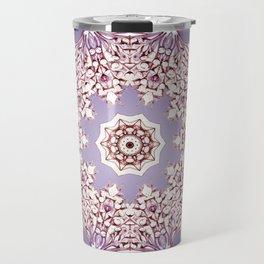 Flower Bud Mandala Travel Mug