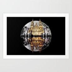 Crystals, Castles, and Moons Art Print