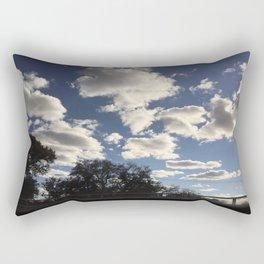 Clouded Rectangular Pillow