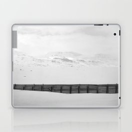 The Fence In The Mountains Laptop & iPad Skin