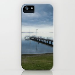 Jetty over Lake King iPhone Case