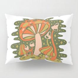 Forest of Mushrooms Pillow Sham