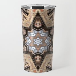 Architectural Star of David Travel Mug