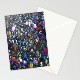 Titanium Aura Quartz Stationery Cards