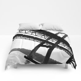 a bridge over troubled waters Comforters