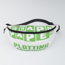 I See You Have Graph Paper Funny Plotting Math Gift product Fanny Pack