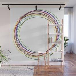 color circles Wall Mural