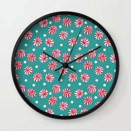 Pepperminty Wall Clock