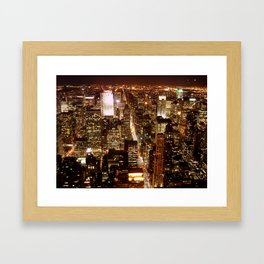 View from the Empire State Building Framed Art Print