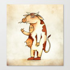 Vaca Canvas Print