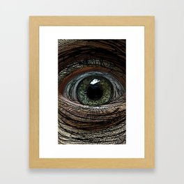Linear Eye Framed Art Print