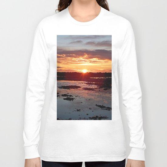 Sunset from the Beach Long Sleeve T-shirt