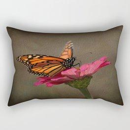Prefect Landing - Monarch Butterfly Rectangular Pillow