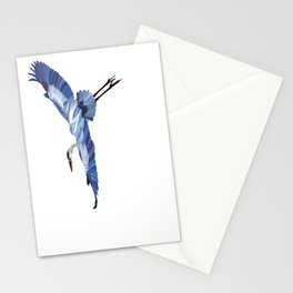 Great Blue Heron - illustration Stationery Cards