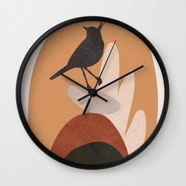 Cute Little Bird I Wall Clock