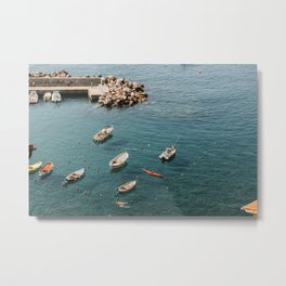 Cinque Terre - A dip in the Mediterranean 2.0 Metal Print
