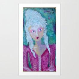 Haunted Marie Art Print