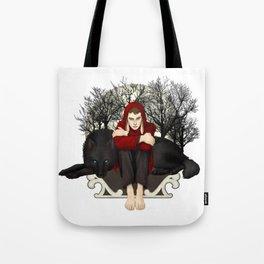 Moon Bunny Tote Bag
