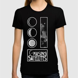 The Phases of the Moon - Chasing Satellites T-shirt