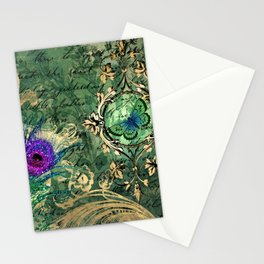 Feather Peacock 23 Stationery Cards