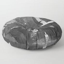 Vintage X-mas Floor Pillow