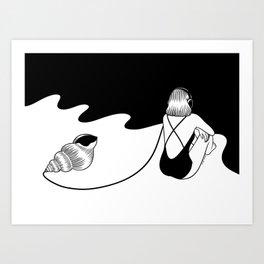 Summer Sound Art Print