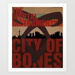 The Mortal Instruments: City of Bones Art Print