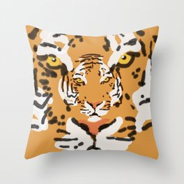 2Tigers Throw Pillow