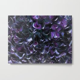 Purple Pond Metal Print
