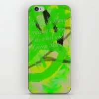 artsy iPhone & iPod Skins featuring Artsy by DesignByAmiee