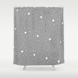 Op Art 24 Shower Curtain