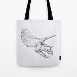 Skull of a Dinosaur Tote Bag