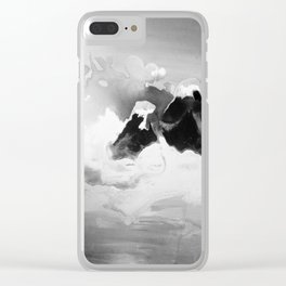 Ah Create and Destroy in Shadow Clear iPhone Case