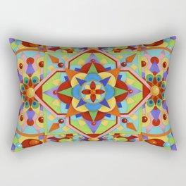 Chartres Mandala Rectangular Pillow