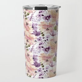 Watercolor vintage pattern Travel Mug