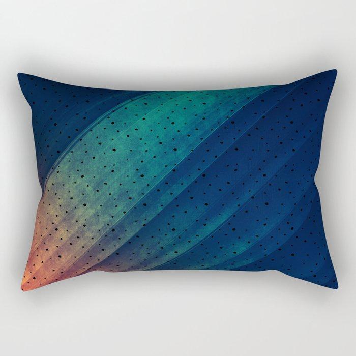 Escape Reality Abstract Print Rectangular Pillow